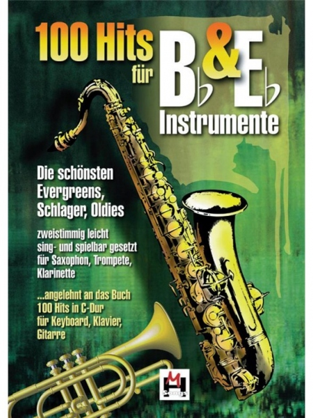 No brand 100 Hits For B Flat and E Flat Instruments