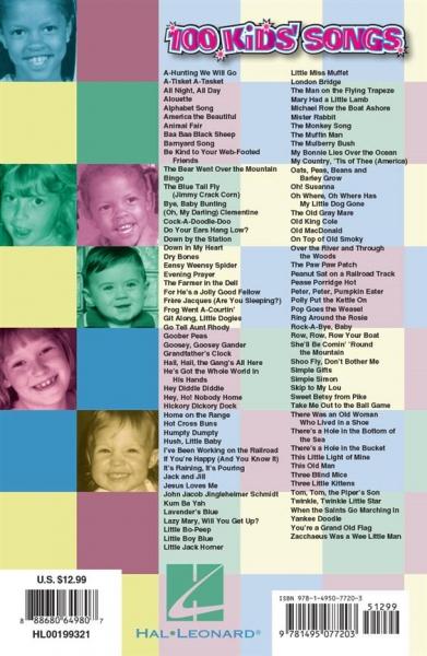 No brand 100 Kids Songs