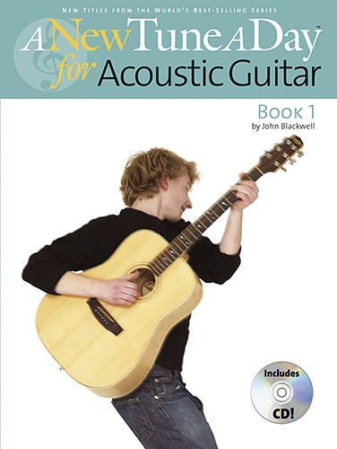 No brand A NEW TUNE A DAY  ACOUSTIC GUITAR   BOOK 1 (CD EDITION) GTR BOOK/CD