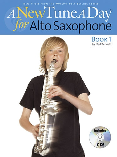 No brand A NEW TUNE A DAY  ALTO SAXOPHONE   BOOK 1 (CD EDITION) ASAX BOOK/CD