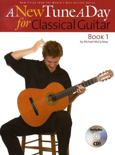 No brand A NEW TUNE A DAY  CLASSICAL GUITAR   BOOK 1 (CD EDITION) GTR BOOK/CD