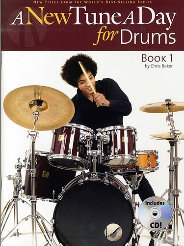 No brand A NEW TUNE A DAY FOR DRUMS  BOOK ONE (BOOK AND CD) BOOK/CD