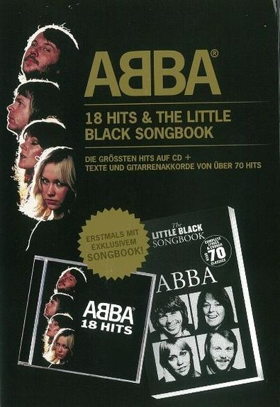 No brand ABBA: 18 Hits & The Little Black Songbook