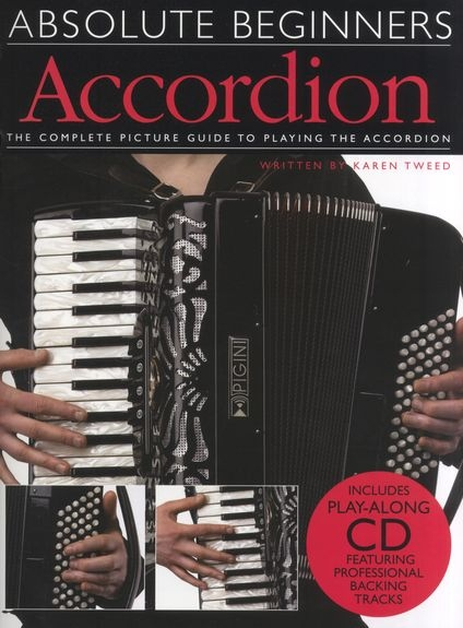 No brand ABSOLUTE BEGINNERS ACCORDION ACDN BOOK/CD