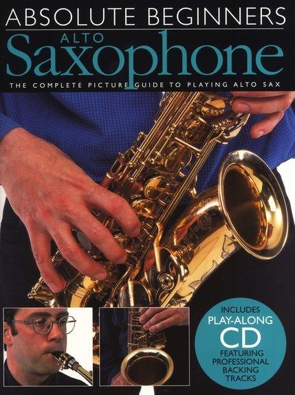 No brand ABSOLUTE BEGINNERS ALTO SAXOPHONE ASAX BOOK/CD