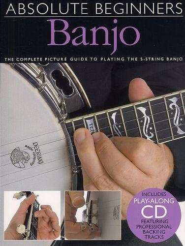 No brand ABSOLUTE BEGINNERS BANJO BJO BOOK/CD