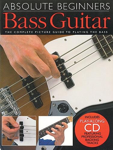 No brand ABSOLUTE BEGINNERS BASS GUITAR BGTR BOOK/CD