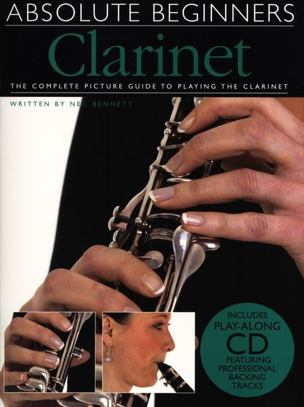 No brand ABSOLUTE BEGINNERS CLARINET CLT BOOK/CD
