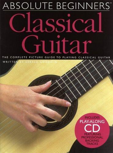 No brand ABSOLUTE BEGINNERS CLASSICAL GUITAR GTR BOOK/CD
