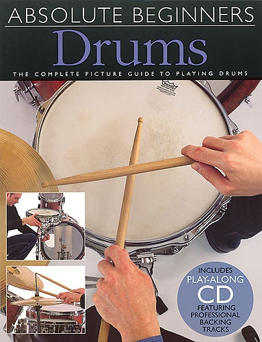 No brand ABSOLUTE BEGINNERS DRUMS BOOK/CD