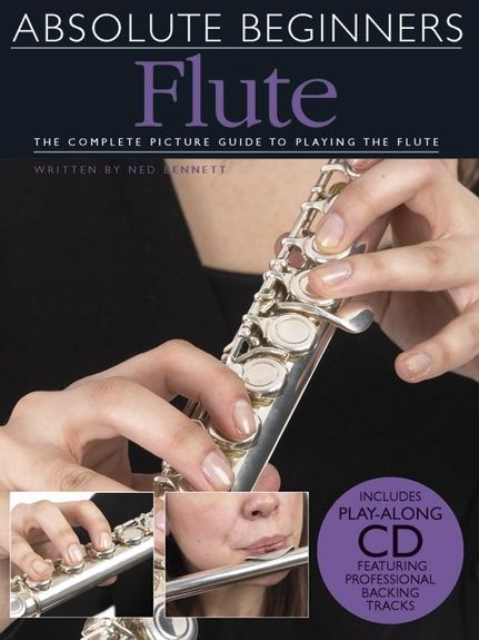 No brand ABSOLUTE BEGINNERS FLUTE FLT BOOK/CD