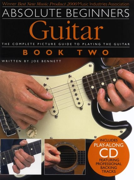 No brand ABSOLUTE BEGINNERS GUITAR BOOK TWO GTR BOOK/CD
