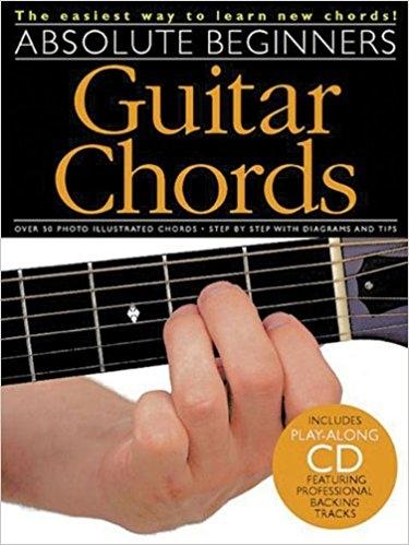 No brand ABSOLUTE BEGINNERS GUITAR CHORDS GTR BOOK/CD