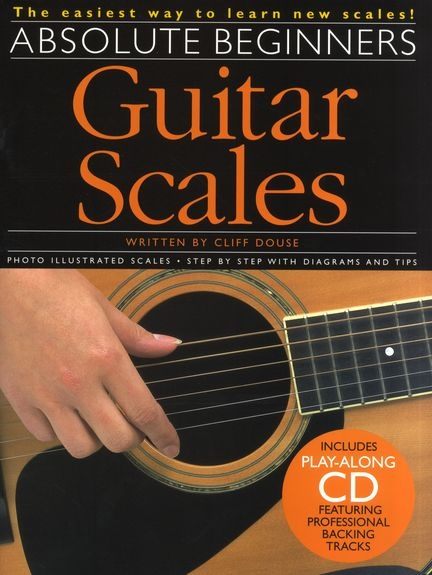 No brand ABSOLUTE BEGINNERS GUITAR SCALES GTR BOOK/CD