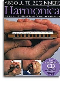 No brand ABSOLUTE BEGINNERS HARMONICA HARM BOOK/CD