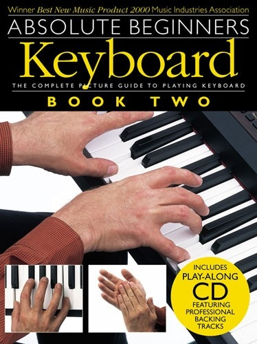 No brand ABSOLUTE BEGINNERS KEYBOARD BOOK TWO KBD BOOK/CD
