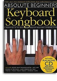 No brand ABSOLUTE BEGINNERS KEYBOARD SONGBOOK KBD BOOK/CD