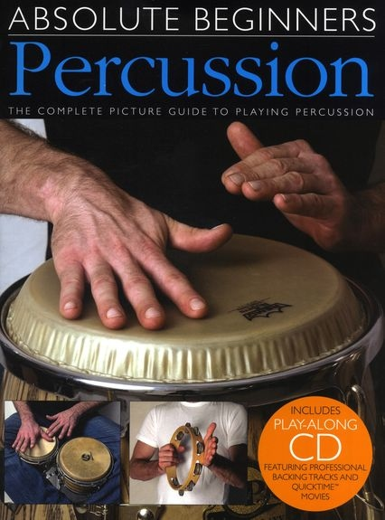 No brand ABSOLUTE BEGINNERS PERCUSSION PERC BOOK/CD