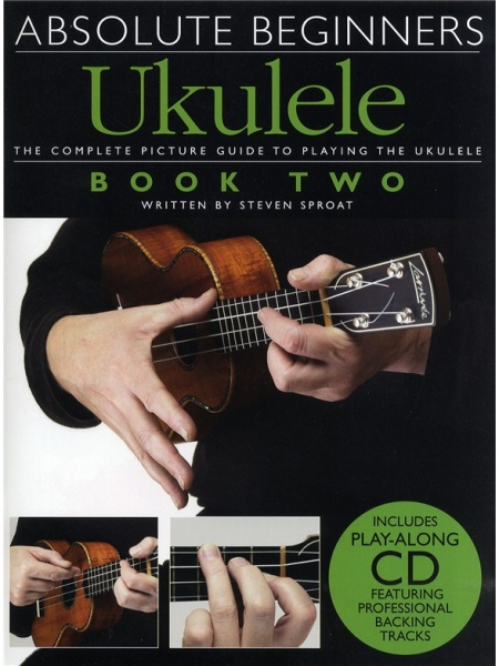 No brand ABSOLUTE BEGINNERS UKULELE BOOK 2 UKE BOOK/CD