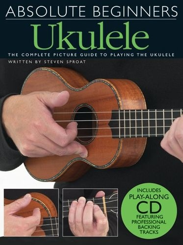 No brand ABSOLUTE BEGINNERS UKULELE UKE BOOK/CD