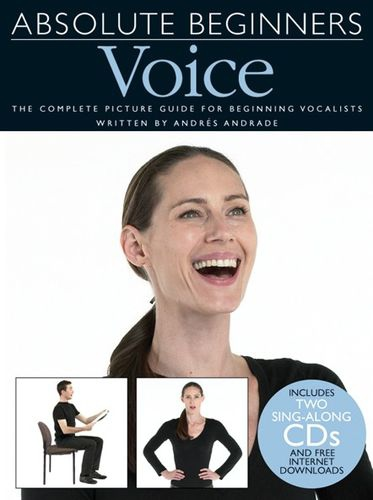No brand ABSOLUTE BEGINNERS VOICE PVG UK BOOK/2CDS