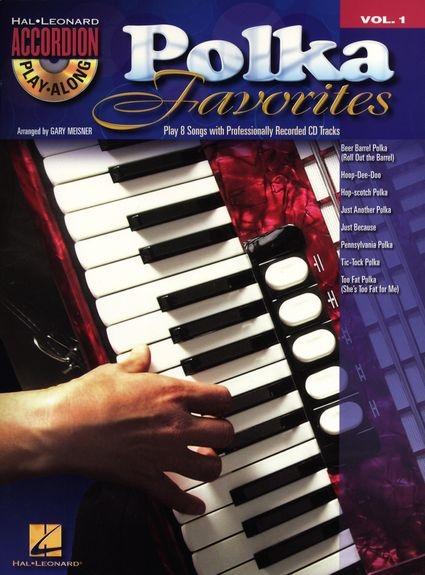 No brand Accordion Play-Along Volume 1: Polka Favourites