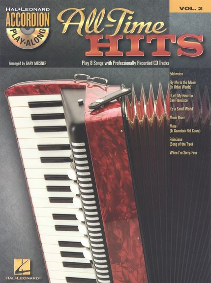 No brand Accordion Play-Along Volume 2: All-Time Hits