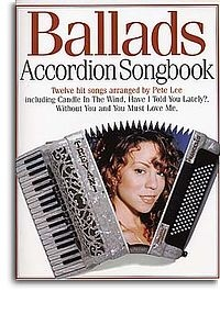 No brand Accordion Songbook Ballads