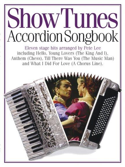 No brand Accordion Songbook Show Tunes