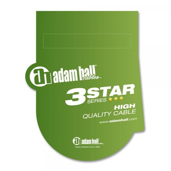 Adam Hall 3Star TRS Patch Set 0.3m