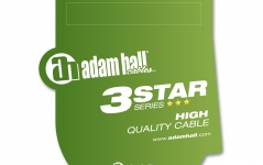 Adam Hall 3Star TRS Patch Set 0.6m
