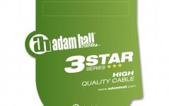 Adam Hall 3Star XLRf-TRS 1m