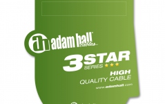 Adam Hall 3Star XLRm-TRS 1m