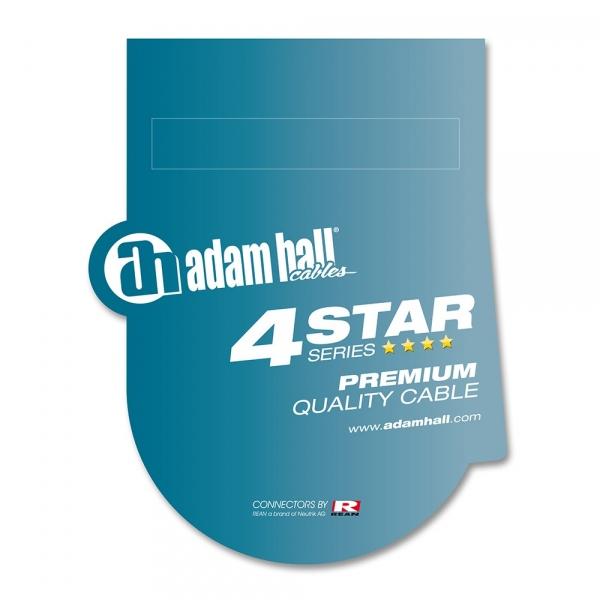 Adam Hall 4Star XLRm-TRS 0.6m