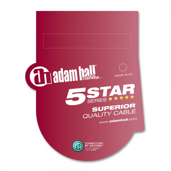 Adam Hall 5Star Mic XLR 7.5m