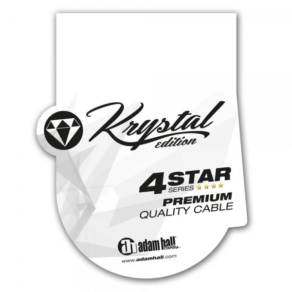 Adam Hall Krystal 4S Mic XLR 2.5m