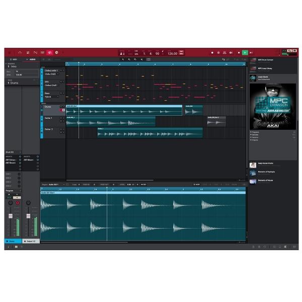 Groove-box Akai Akai MPC X