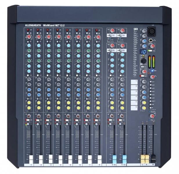 Mixer analogic cu 8 canale Allen&Heath MixWizard WZ4 12:2