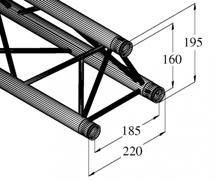 Alutruss Decolock DQ3-1500