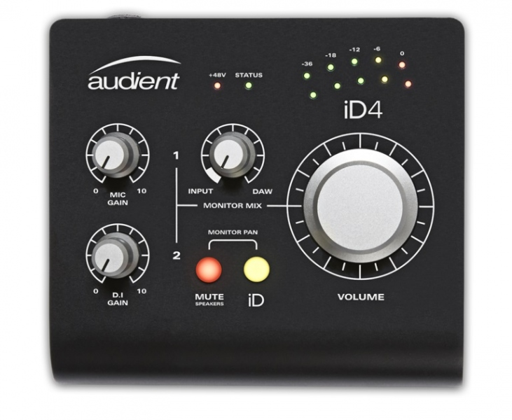 Audient iD4 Black Limited Edition