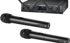 Sistem digital wireless dual cu dou? microfoane de m?n