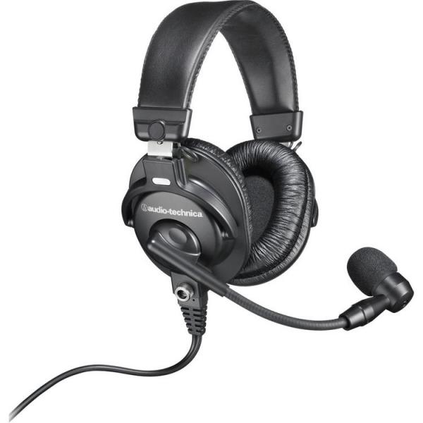 Casti cu microfon pentru broadcast Audio-Technica BPHS1-XF4