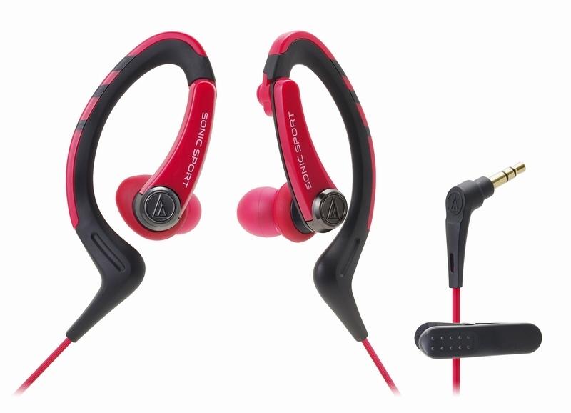 Casti in-ear Audio-Technica SPORT-1 RD