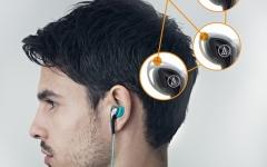 Casti in-ear Audio-Technica SPORT-2 BK