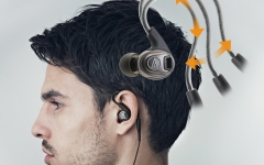 Casti in-ear Audio-Technica SPORT-3 BK
