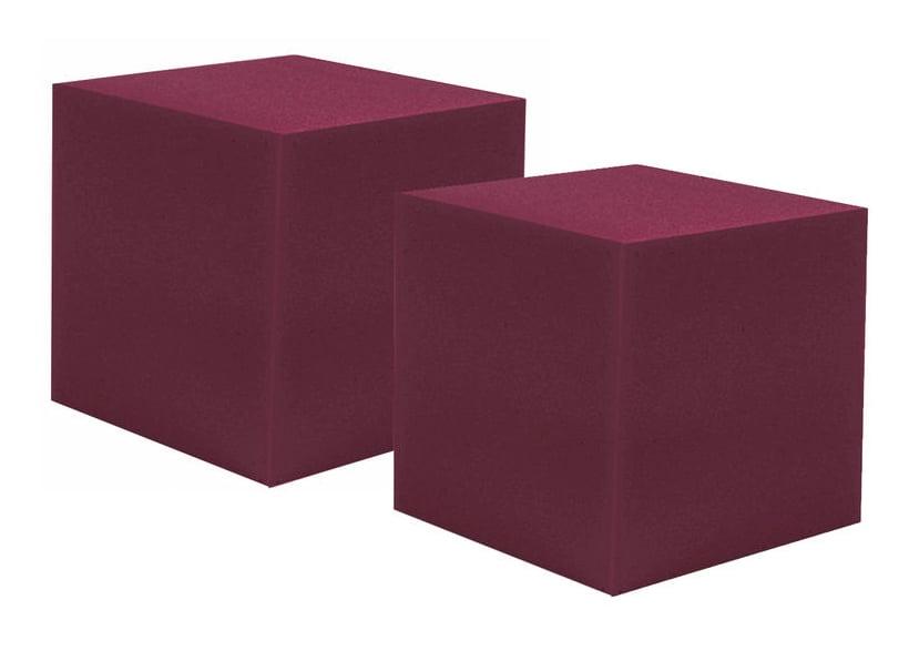 Auralex 12″ CornerFill Cubes Burgundy