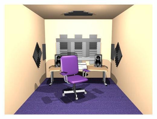 Auralex Roominators D36-DST Burgundy