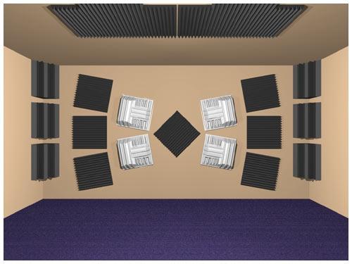 Reprezentare virtuala www.auralex.com