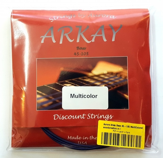 Aurora Arkay Bass 45-105 MultiColored