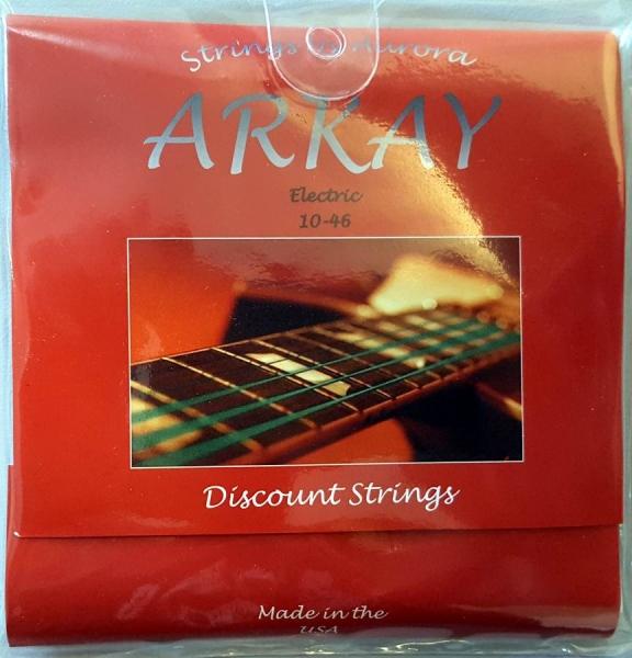 Set corzi chitara electrica Aurora Arkay Electric 10-46 Red